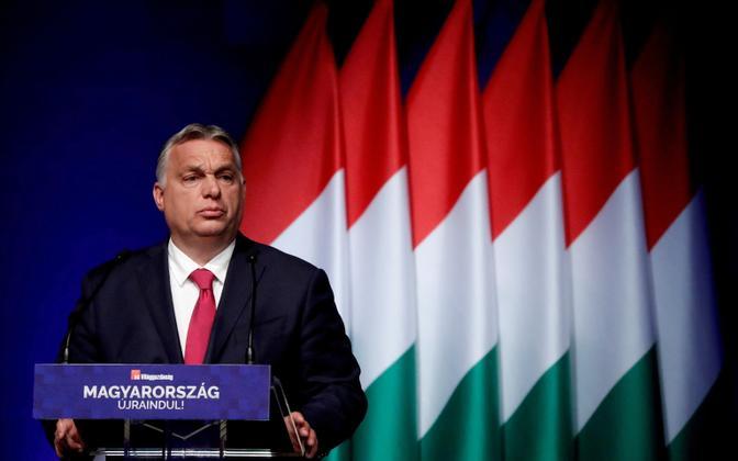 Ungari peaminister Viktor Orban