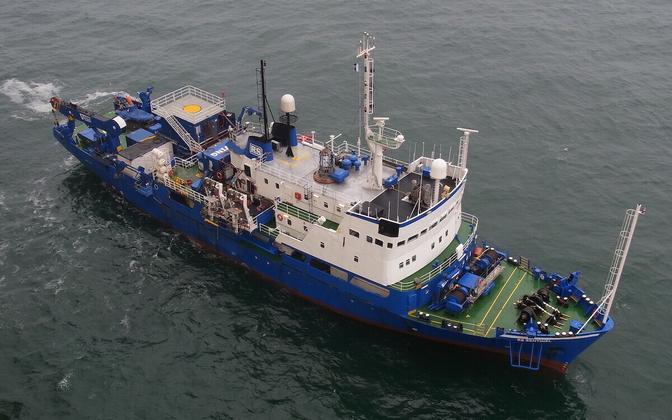 Исследовательское судно RS SENTINEL.