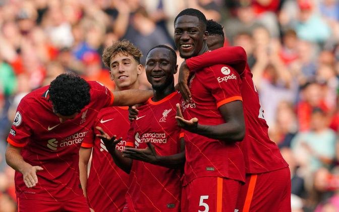 Liverpooli mängijad