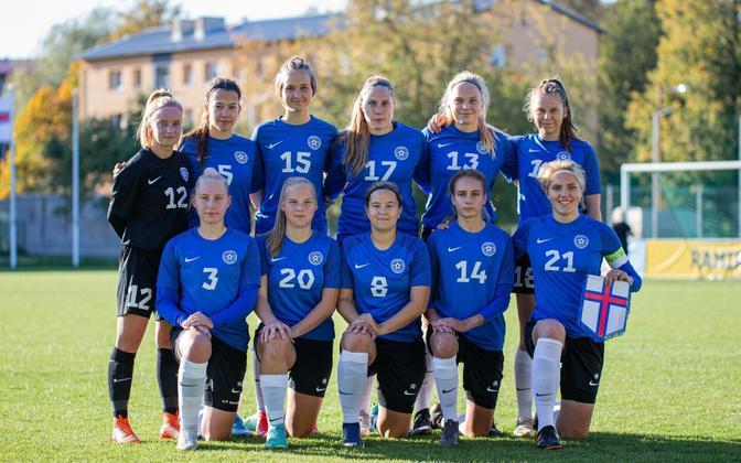 Eesti U19 naiste jalgpallikoondis