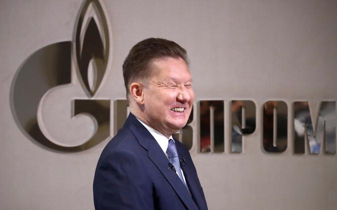 Gazpromi juhi Aleksei Milleri sõnul gaasi hind tõuseb Euroopas veelgi