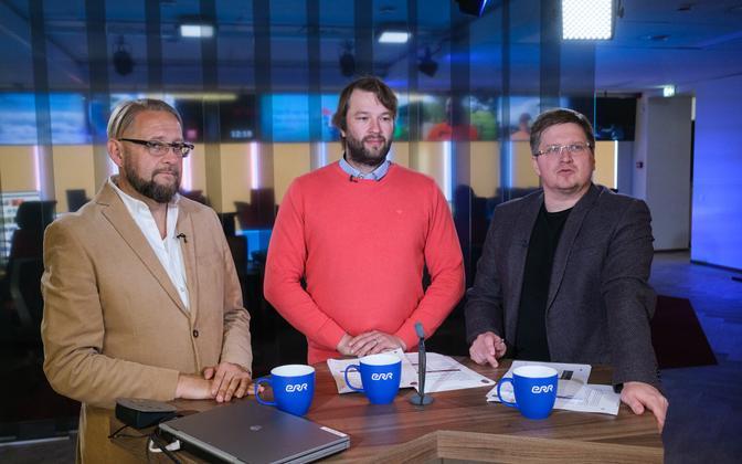 Anvar Samost, Tõnis Stamberg, Urmet Kook on ratings.