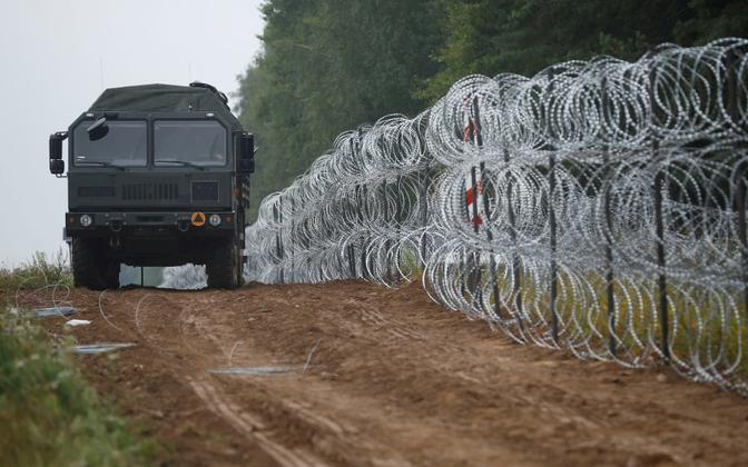 Польско-белорусская граница.