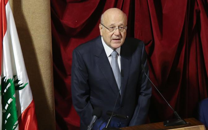 Liibanoni uus peaminister Najib Mikati.