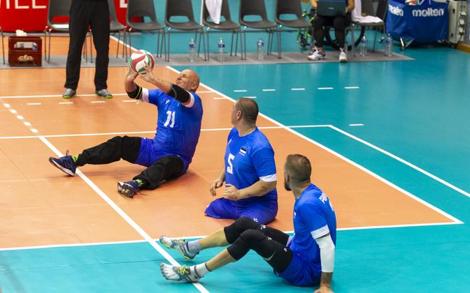Eesti istevõrkpalli koondis.