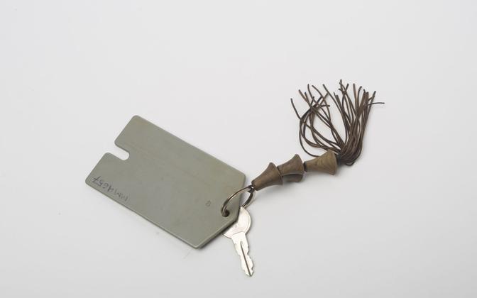 Ключ от кассы бара парома