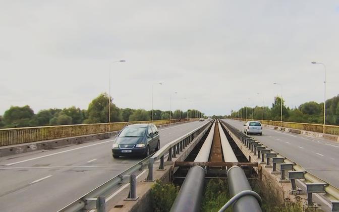Тартуский мост Дружбы.