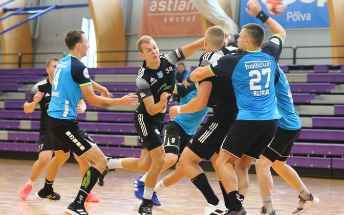 Klaipeda Dragunas vs SK Tapa hooajaeelsel Põlva Cupil