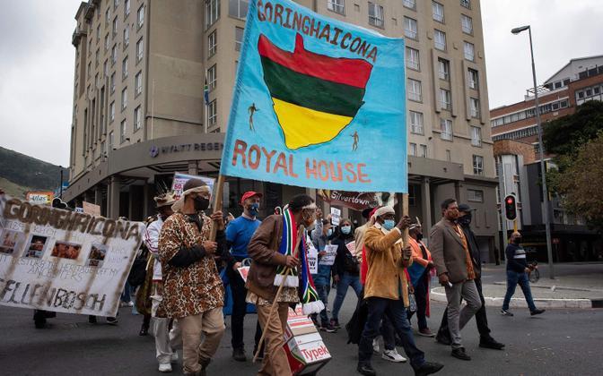 Protestid Amazoni uue peakorteri vastu Lõuna-Aafrika Vabariigis