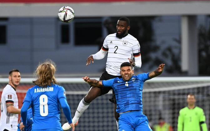 Antonio Rüdiger mängimas Saksamaa koondise eest