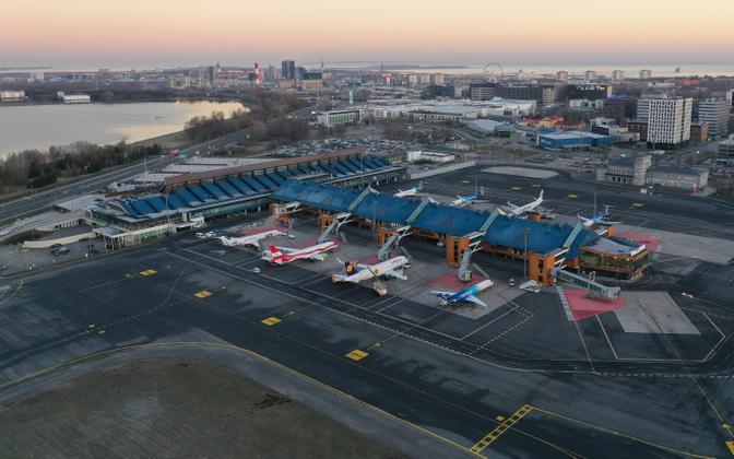 Таллиннский аэропорт.