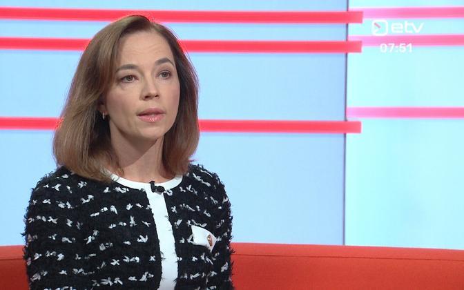 Education minister Liina Kersna (Reform).