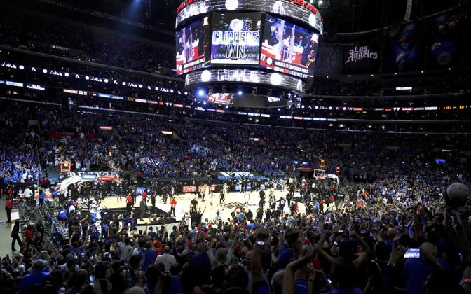 NBA mäng Utah Jazz'i ja Los Angeles Clippersi vahel