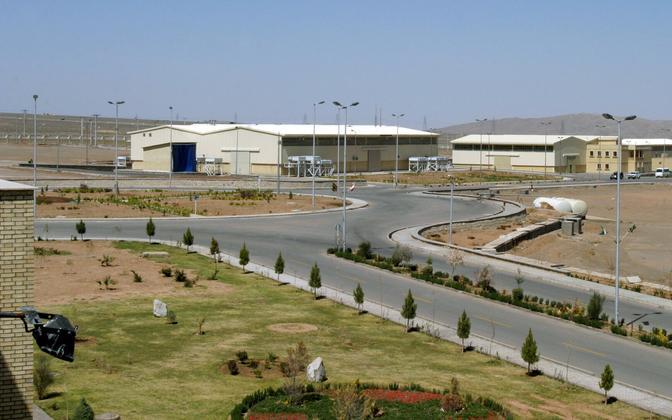Natanzi uraani rikastamise tehas Iraanis.