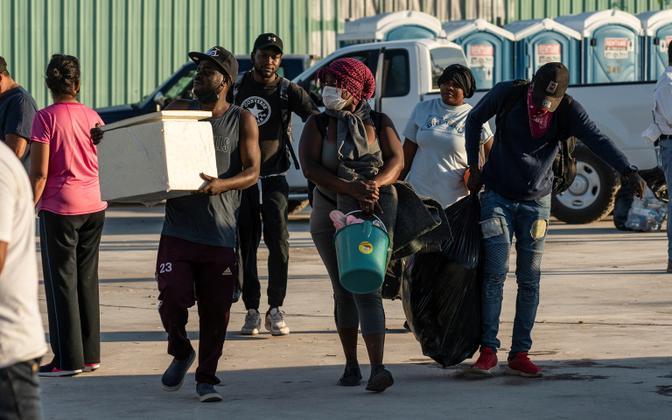 USA-st Mehhikosse naasnud migrandid.