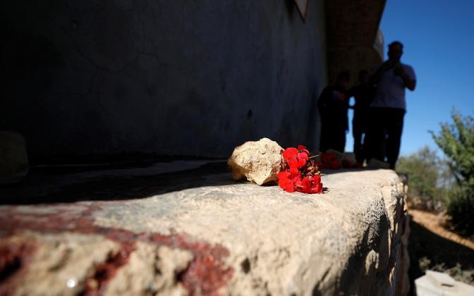Palestiinlaste hukkumispaik.