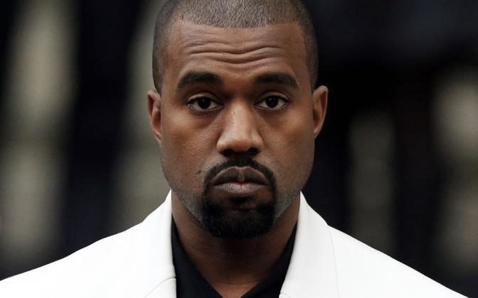 Ameerika produtsent ja räppar Kanye West.