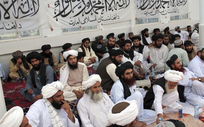 Talibani kohalikud juhid Lashkar Gahs.