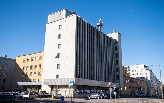 Теледом - здание, в котором находятся редакции и студии телеканалов ERR.