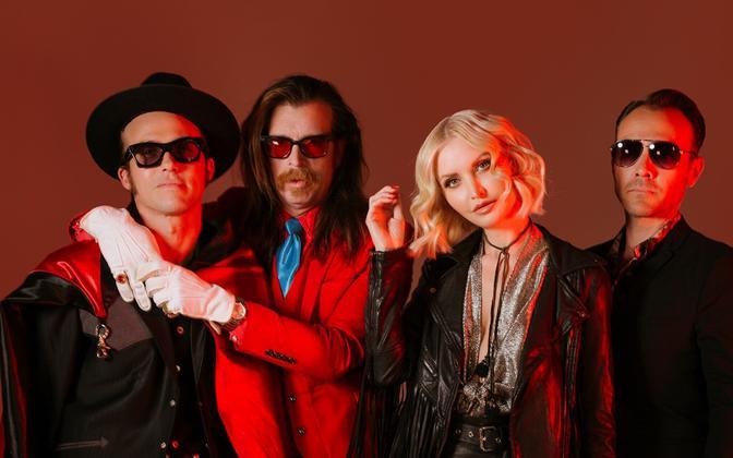USA rokkbänd Eagles of Death Metal annab Tallinnas kontserdi.