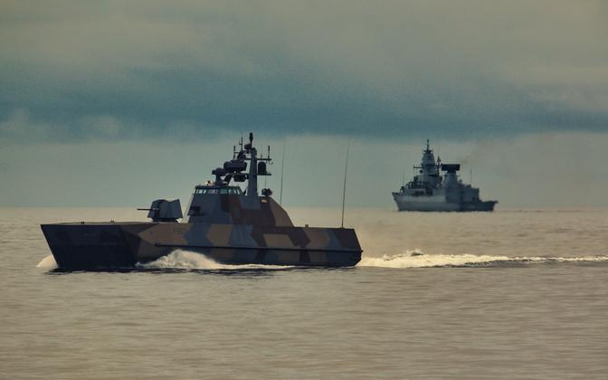 NATO vessels involved in Northern Coasts 2021.