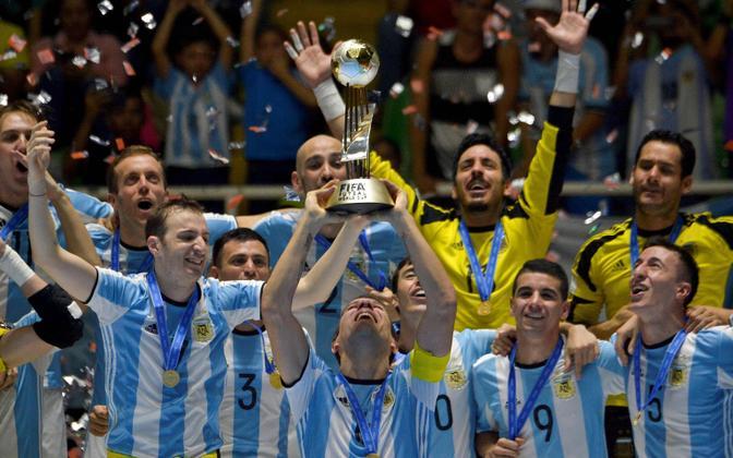 Argentina saalijalgpallikoondis 2016