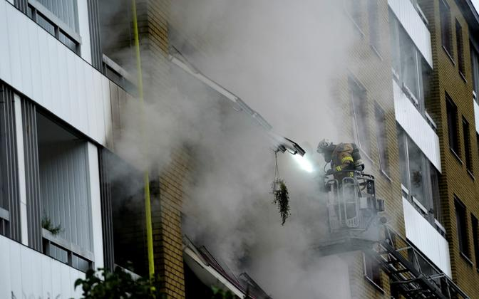 Взрыв в Гетеборге.