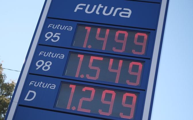 Bensiini ja diislikütuse hind 28. septembril 2021