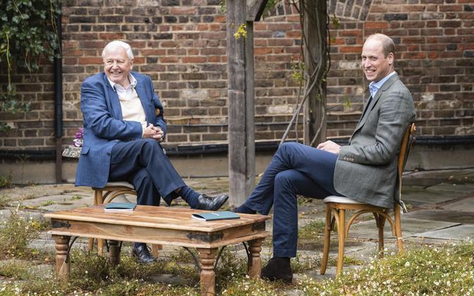 David Attenborough ja prints William