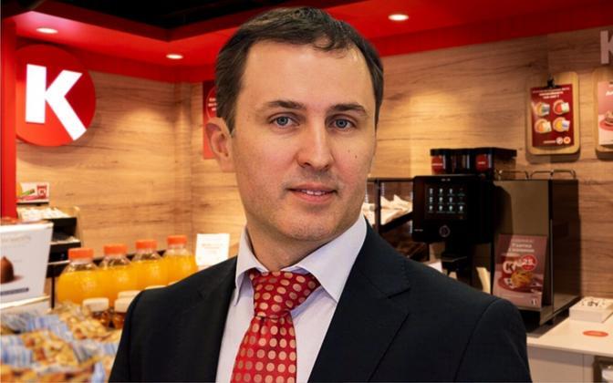 Circle K uus juht Yuri Bryantsev.
