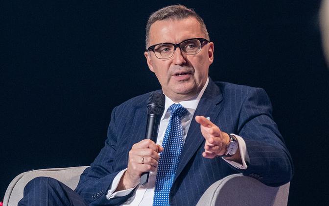 Andres Sutt Tallinn Digital Summitil 2021.
