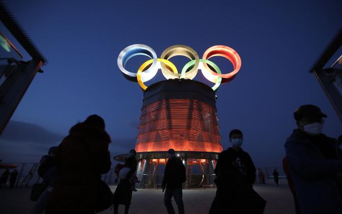 Olümpiarõngad Pekingis