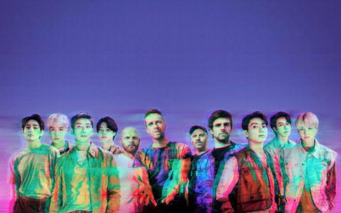 BTS ja Coldplay