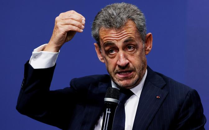 Prantsusmaa endine president Nicolas Sarkozy