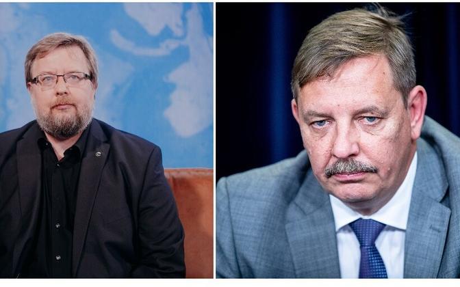 Olev-Andres Tinn ja Taavi Aas