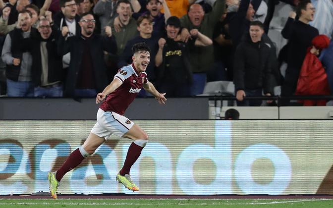 West Hami ja Inglismaa koondise poolkaitsja Declan Rice