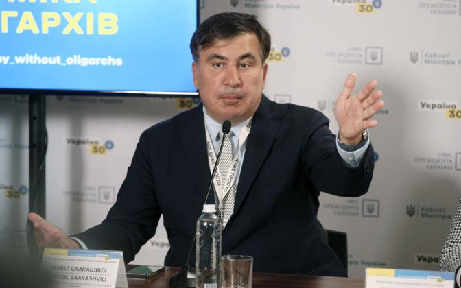 Gruusia endine president Mihheil Saakašvili