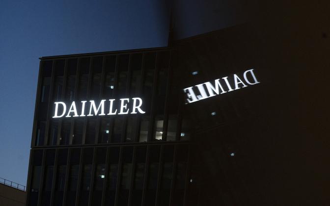 Saksamaa autofirma Daimler