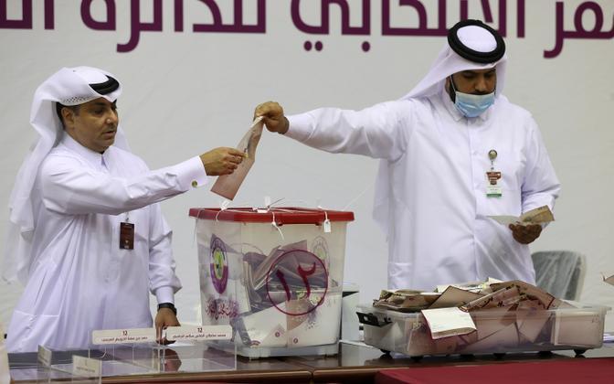 Katari seadusandliku kogu valimised.