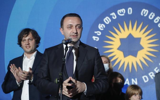 Премьер-министр Грузии и партия