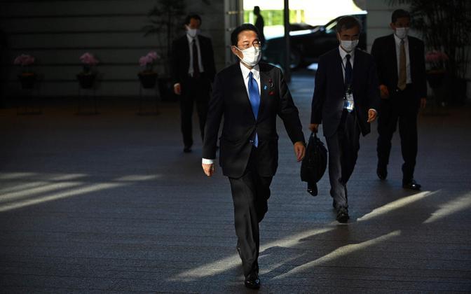 Новый премьер-министр Японии Фумио Кисида.