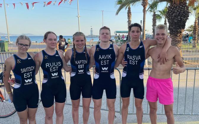Eesti võistkond Türgis toimunud noorte Euroopa meistrivõistlustel