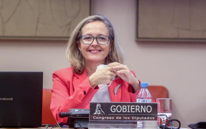 Hispaania majandusminister Nadia Calvino
