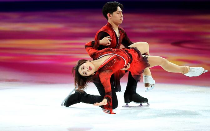 Китайцы Суй Вэньцзин и Хань Цун на турнире 2019 года.