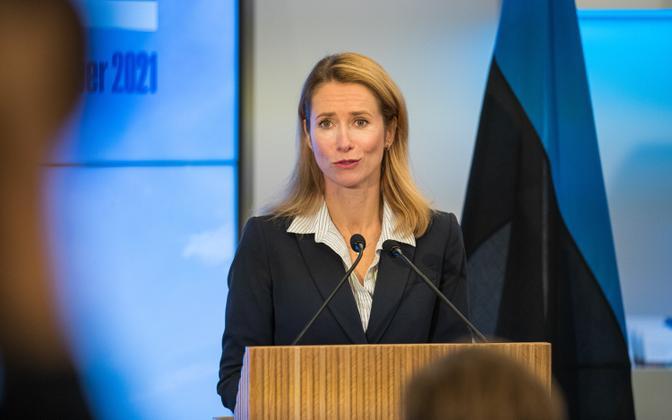 Prime Minister Kaja Kallas (Reform).