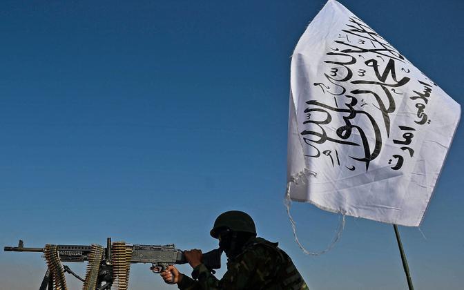 Talibani võitleja