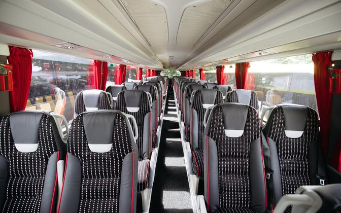 The individual had crossed into Estonian territory on a passenger bus (photo is illustrative).