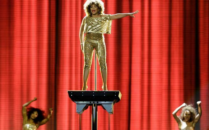 Tina Turner 2009. aastal.
