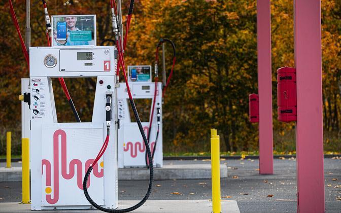 An Eesti Gaas fueling station.