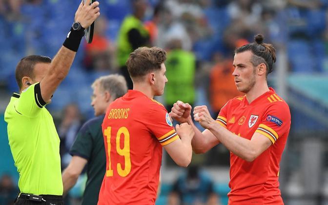David Brooks ja Gareth Bale